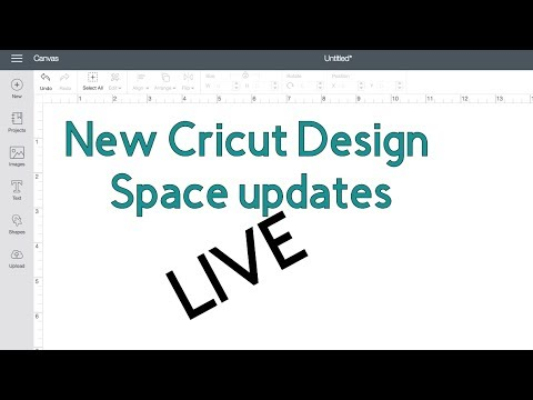 New Features in Cricut Design Space TODAY LIVE