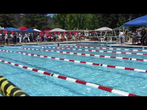 2018-6-16, Kenny Chen Swim 50 yards Breastroke (2018游泳賽 6/16 , 紀翰游蛙式)