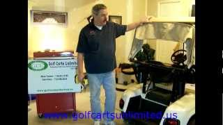 Ezgo Golf Cart Rear Seat Installation