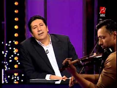 احمد فهمى يعزف على كمان 'هانى رمزى' #الليلة_مع_هانى