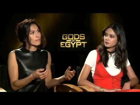 "Gods of Egypt: Elodie Yung ""Hathor"" & Courtney Eaton ""Zaya"" Exclusive Interview"