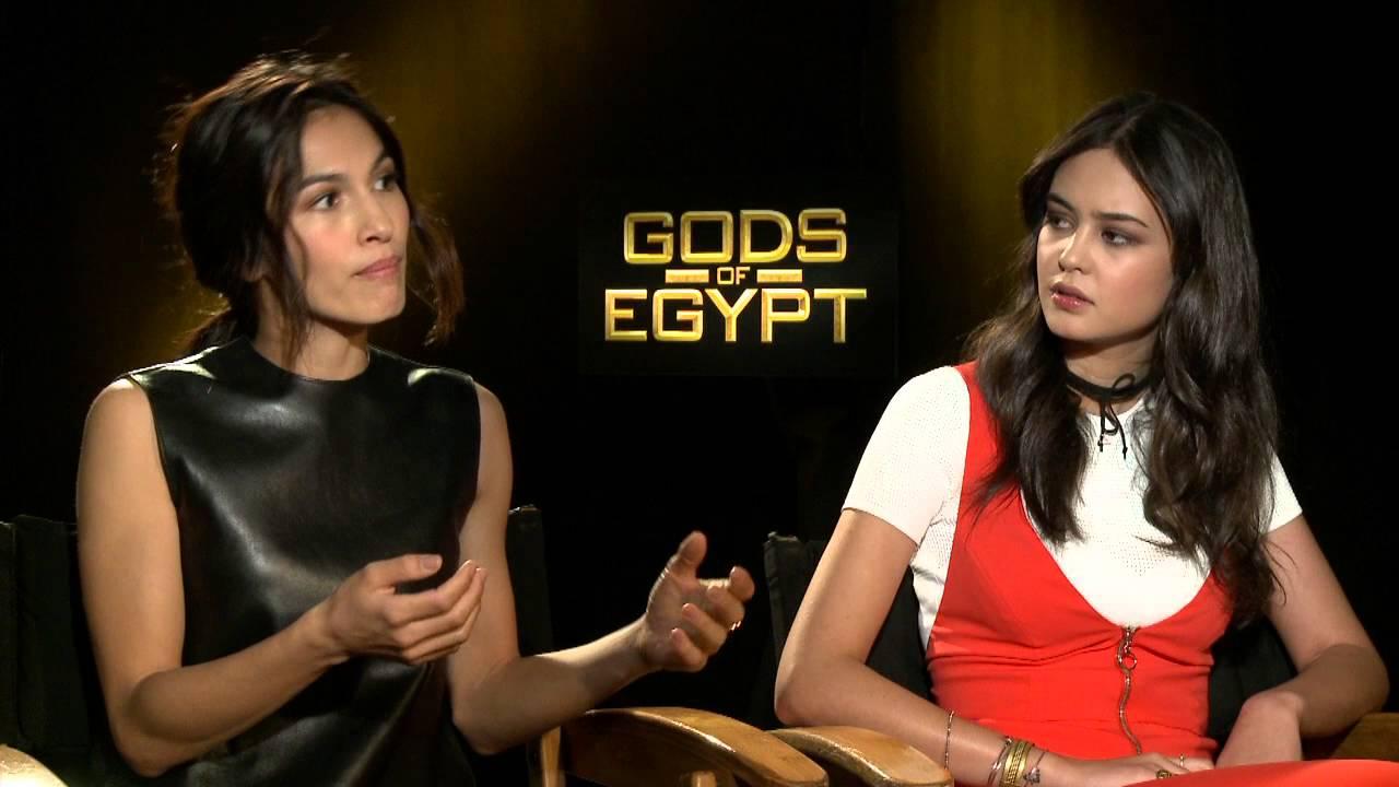 "Gods Of Egypt: Elodie Yung ""Hathor"" & Courtney Eaton ""Zaya"