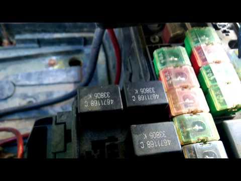 dodge durango fuse diagram 2004 mg tf wiring dakota 97-04 asd relay n fuel - youtube