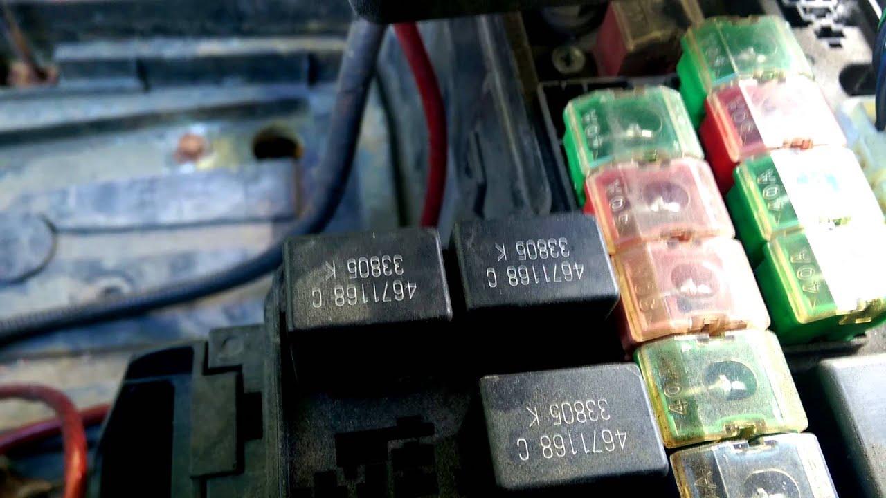 Dodge Durango Dodge Dakota 9704 ASD relay n Fuel  YouTube