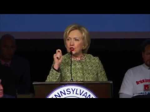 Hillary Clinton Speech to ALF CIO Union Members 4 6 2016
