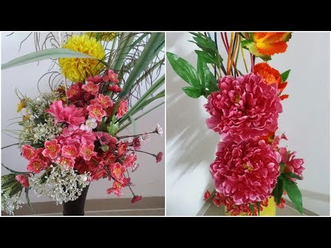HOW TO CLEAN AND WASH ARTIFICIAL FLOWERS AT HOME