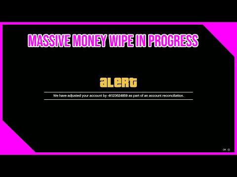 Massive Money Wipe In GTA 5 Online