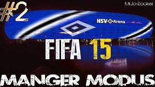 FIFA 15 MANAGER-MODUS SAISON 1 -HSV- #2 - El Überzieher & Transfer Erlebnisse [1080p HD]