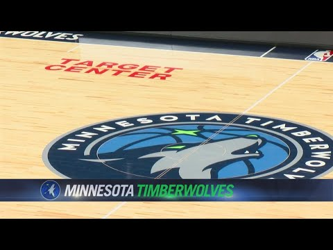 New-Look Wolves Take The Court At Renovated Target Center Friday Night