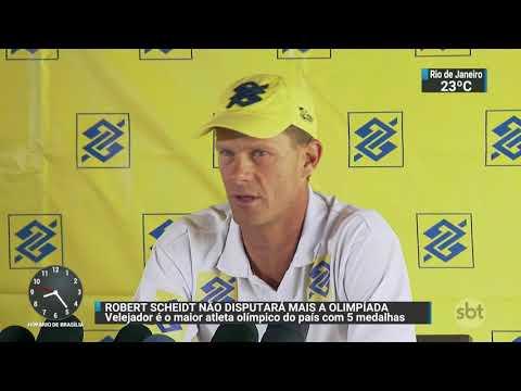 Robert Scheidt anuncia que não vai mais disputar os Jogos Olímpicos | SBT Brasil 17/10/17