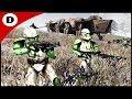 CLONE TROOP TRANSPORT ATTACK - Men of War: Star Wars Mod