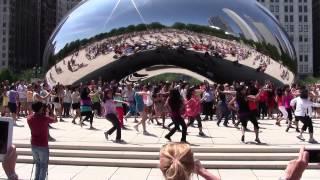 2012: Bollywood Groove Flash Mob - Chicago - Millennium Park