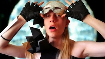 Lady Gaga Poker Face Costume ♠ Sire Sasa tutorial 3
