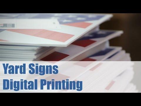 Yard Sign - Digital Printing