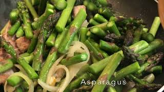 #3 Asparagus With Pork & Mushroom