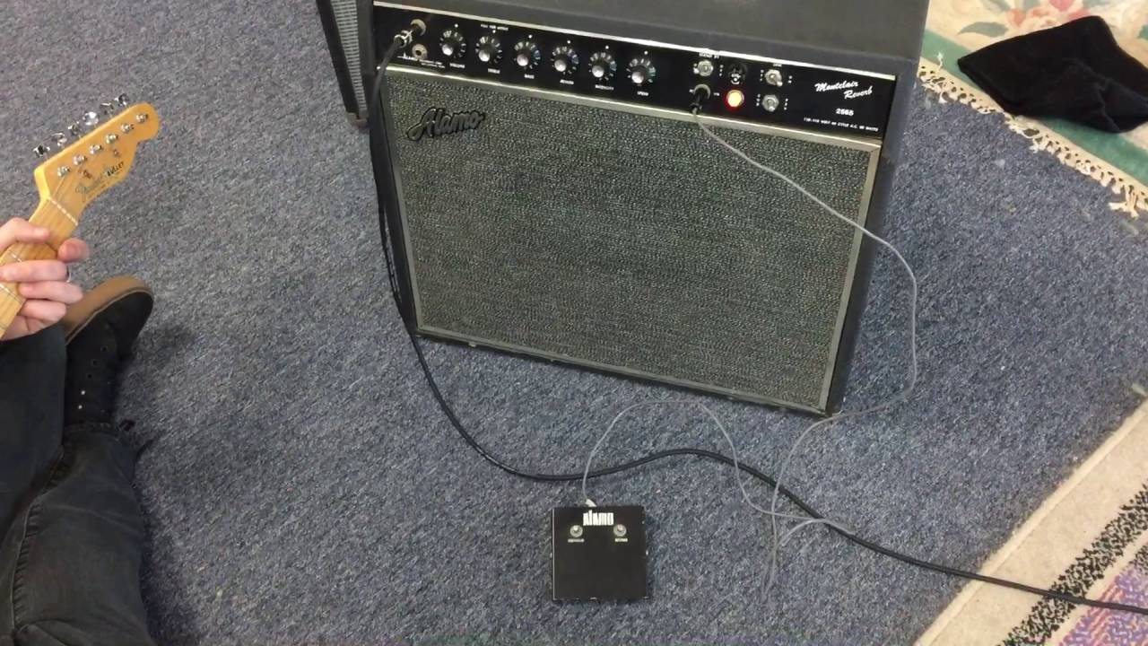 medium resolution of alamo montclair 2565 reverb amp