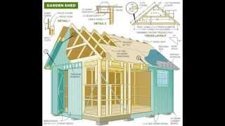 Over 12000 Shed Plans Woodworking