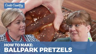 How to Make Ballpark-Style Pretzels at Home