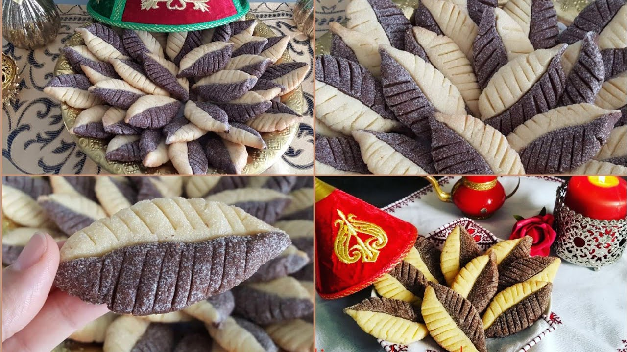 حلوة الورقة من حلويات الزمن الجميل اقتصادية و هشيشة و بدون مرشم/حلويات مغربية تقليدية