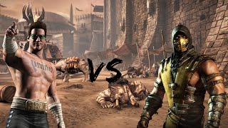 MKX - FT5:IIBurritosII(Johnny Cage) Vs. IINiiMBUSII(Scorpion)