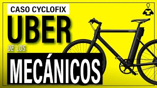 El Uber francés de los Mecánicos de Bicicletas   Caso Cyclofix