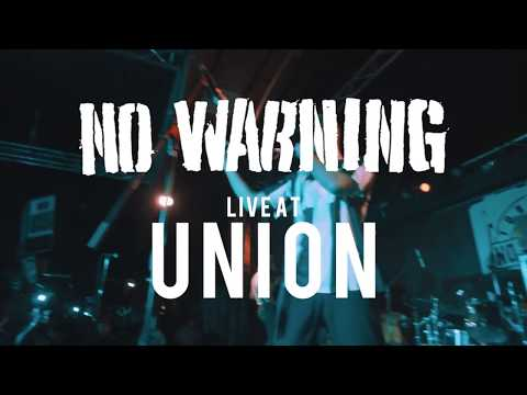 No Warning - FULL SET {HD} 09/08/17 (Live @ Union)