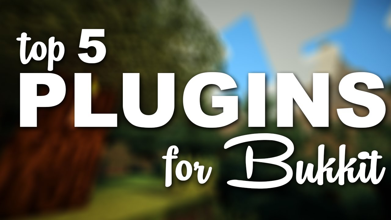 Minecraft Bukkit Plugins - Top 5 FUN Plugins!