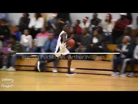 Martha Puckett Middle School vs Arthur Williams Middle 2018 Game 1 - Middle School Basketball Game