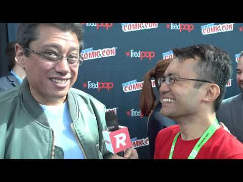 Dean Devlin at NYCC 2015 for