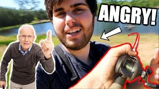 Hunter Confronts Us While TURKEY HUNTING! Fishing at our secret POND!