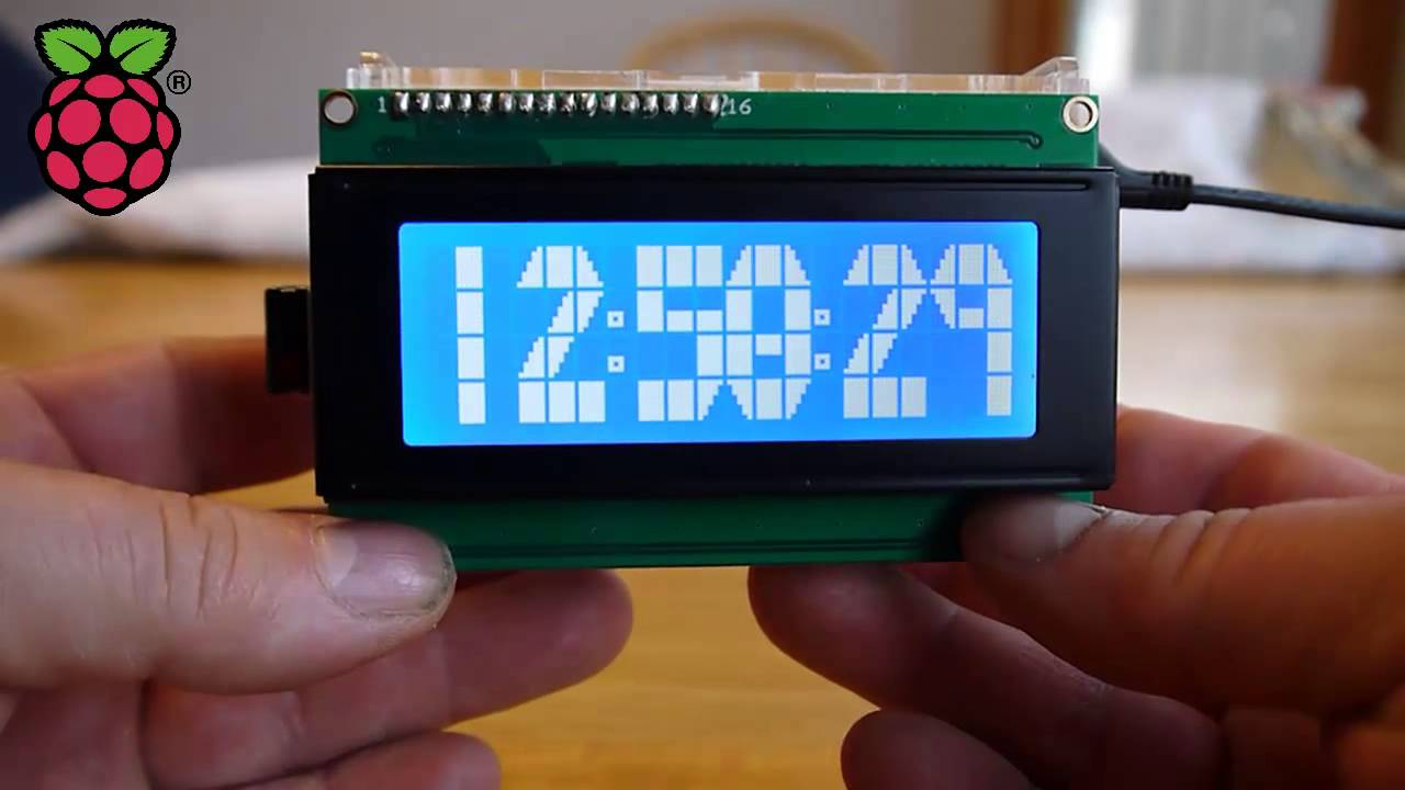 20x4 Lcd Raspberry Pi Expansion Board YouTube
