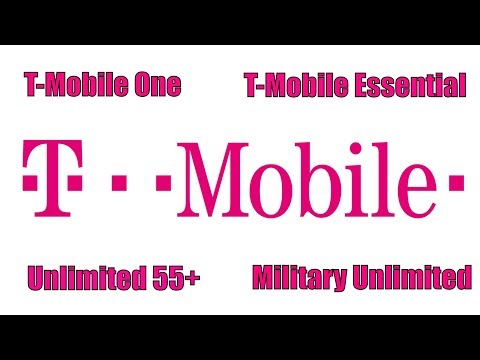 Understanding T-Mobile One| T-Mobile Essential| Unlimited 55+| Military Plan| FREE NETFLIX