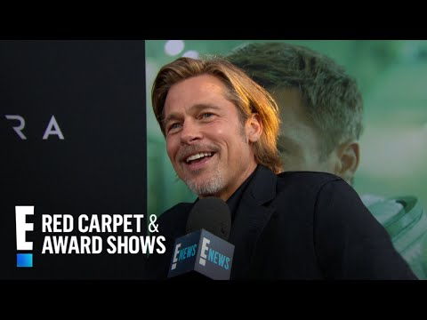 """Brad Pitt Doesn&39;t Want to Be at the """"Ad Astra"""" Premiere  E Red Carpet & Award Shows"""