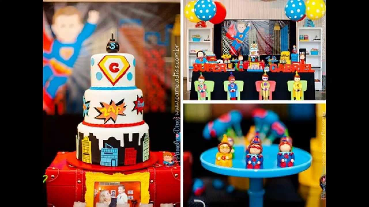 Awesome Superhero Party Decorations