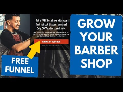 How To Grow Your Barber Shop Hair Salon Business - Free Website Template