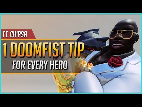 1 DOOMFIST TIP Vs EVERY HERO Ft. ChipSa (UPDATED 2019)
