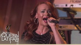 Faith Evans Performs