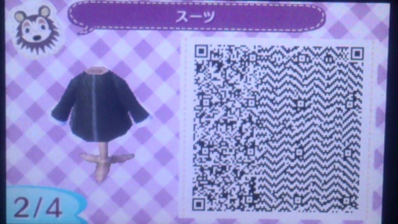 どうぶつ の 森 洋服 qr コード