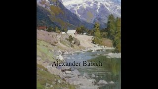 OIL PAINTING MASTERCLASS Alexander Babich