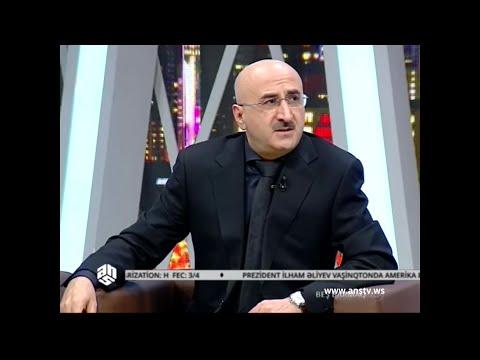 """Nail Aliyev - """"1918 il Mart soyqırımı"""" ANS TV """"Beş barmaq"""" ictimai siyasi veriliş 31.03.2016"""