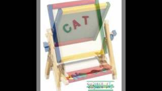 Guidecraft 4 In 1 Table Top Easel