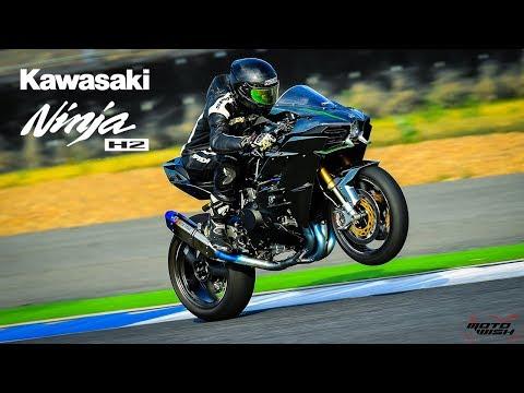 Kawasaki Ninja H2 : 258 Horsepower In Thailand