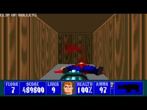 Wolfenstein 3D - Episode 3, Floor 7 |