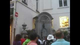Belgium: Bruxelles (2/6) Manneken Pis 2012-08-24(Fri)1935hrs