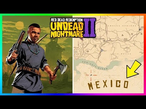 Red Dead Redemption 2 Undead Nightmare - NEW DETAILS! Burial Site Zombies, Haunting Music & MORE!