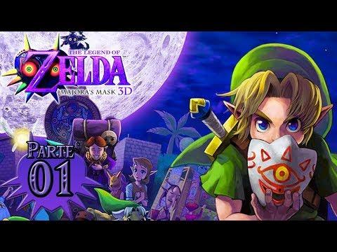 Zelda Majora's Mask 3D (HD) #1 - El héroe del tiempo