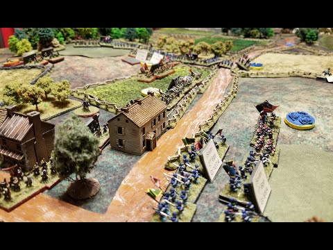 6mm Fire and Fury January 2020 Game Battle Report  