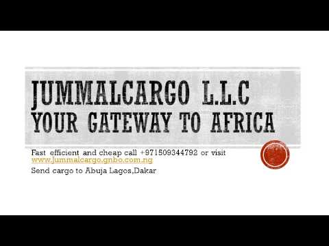 Nigeria freight and cargo service