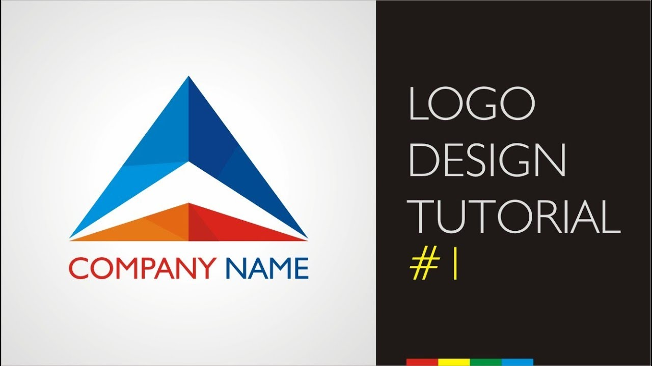 Logo design tutorials - Company logo - YouTube