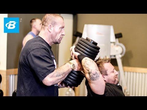 Bodybuilding Delts & Triceps Workout | Dorian Yates' Blood & Guts